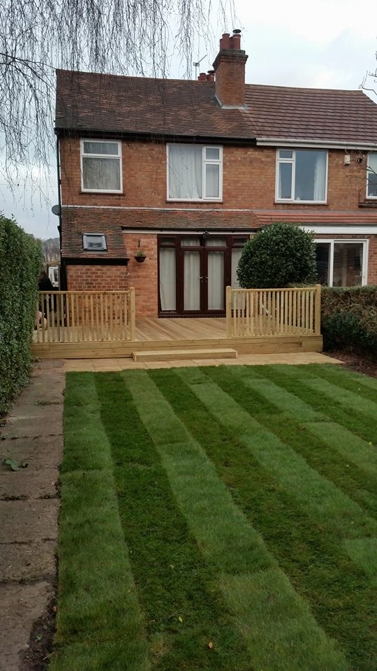 d j projects decking services nottingham driveway